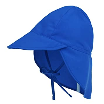 a39399a39b8 Millya Infant Baby Cotton Sun Hat with Drawstring Strap Flap Legionnaire  Cap Summer Neck Protection Beach