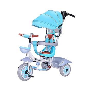 Triciclo para niños 4 en 1 para niños de 3 a 6 años Carrito de bebé ...