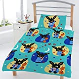 Bing Bunny Junior/Toddler Rotary Duvet Cover Set (JR1-BIN-BED-06)