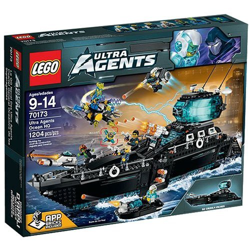 LEGO Agents Ultra Agents Ocean HQ - 70173