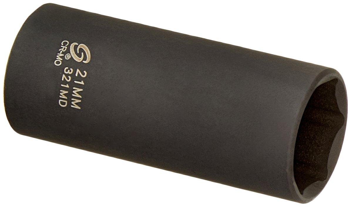 Sunex 321md 3/8-Inch Drive 21-Mm Deep Impact Socket Sunex International