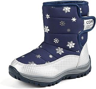 Zolimx Pattini del Bambino Bambino Bambini Ragazzi Ragazze Bambini Scarponi Snow Scarpe Inverno Stivali Moda Bambini Scarpe Sneakers Scarponi da Ginnastica Sneaker Unisex-Bambini