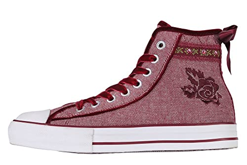Costume Valentino Krüger Sneaker MADL San del Donna Rosso Tracht 1xZqI