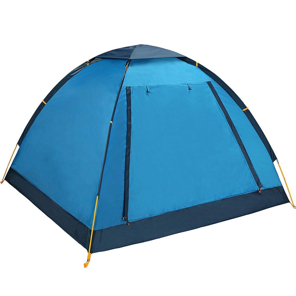 TENT-L ZP Zelt, 2 Personen automatisches im Freien regendichtes Familien-Feld-Campingzelt huwaizhangpeng (Farbe : 1)