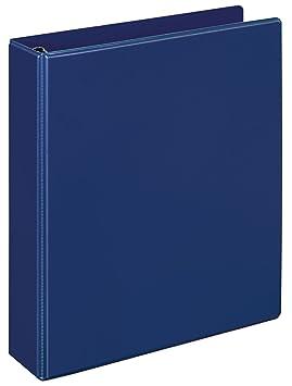 Veloflex 22903255 - Archivador con anillas, azul: Amazon.es: Oficina y papelería