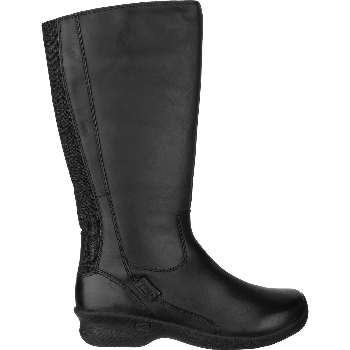 KEEN Women's Baby Bern Ii Wide-w Rain Boot, Black, 9.5 M US
