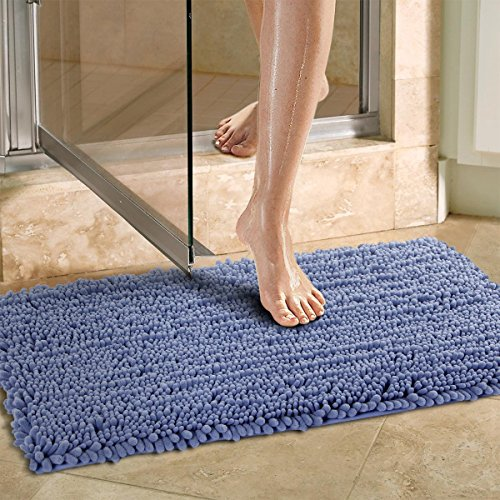 blue bath mat - 9