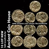 Lot of 10 - Premium Roman Ancient Bronze Coins by Ancient Coin House