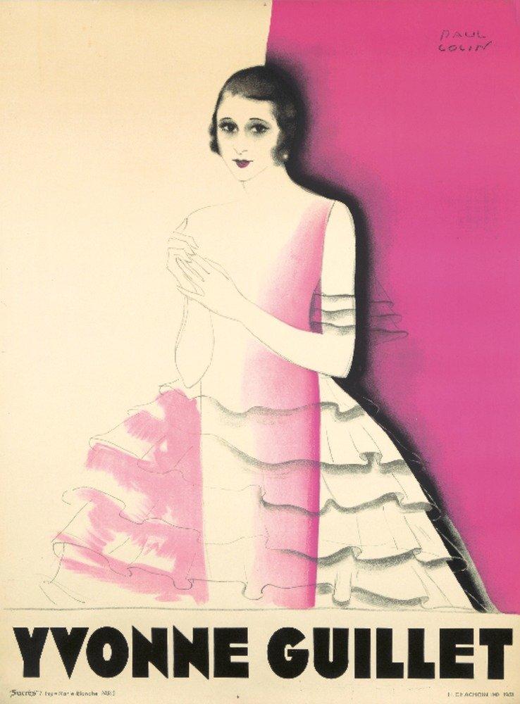 Yvonne Guilletヴィンテージポスター(アーティスト: Colin )フランスC。1931 36 x 54 Giclee Print LANT-72689-36x54 B01MPZQ6ST  36 x 54 Giclee Print
