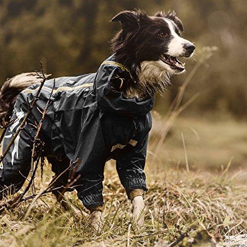 Image of Hurtta Slush Combat Suit Waterproof Dog Overall, Orange Camo, 24M