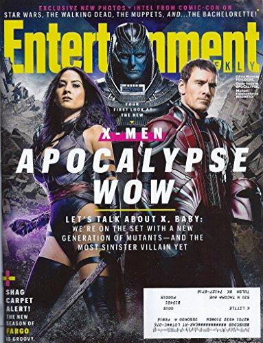 Olivia Munn, Oscar Isaac & Michael Fassbender (X-Men: Apocalypse) l Comic-Con 2015 l Fargo - Entertainment - Olivia Nat And