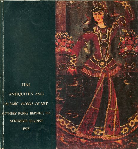 (Fine Antiquities and Islamic Works of Art : Sotheby Parke Bernet Nov. 20 21 1975 Sale #3811)