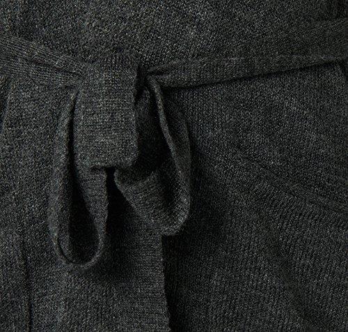 TOM TAILOR Cardigan Mujer gris negruzco