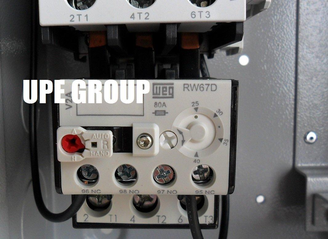 NEW Magnetic Motor Starter. 10HP 3Ph 230V 40amp GE General Electric