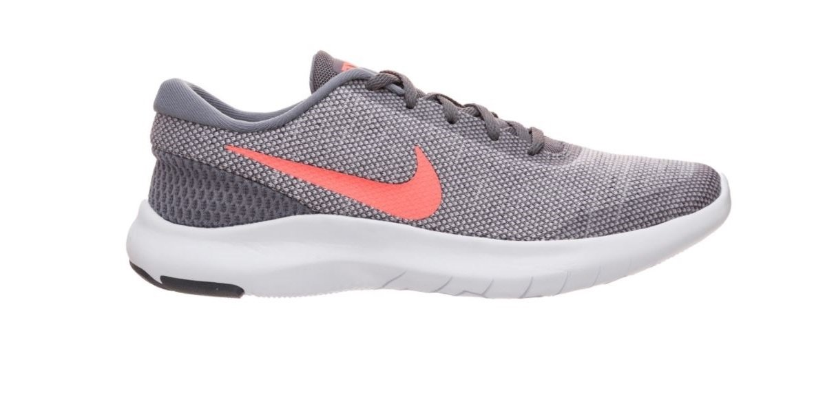 NIKE Women's Flex Experience 7 Running Shoe B075ZY75R2 11.5 B(M) US|Gunsmoke/Crimson Pulse-vast Grey-white