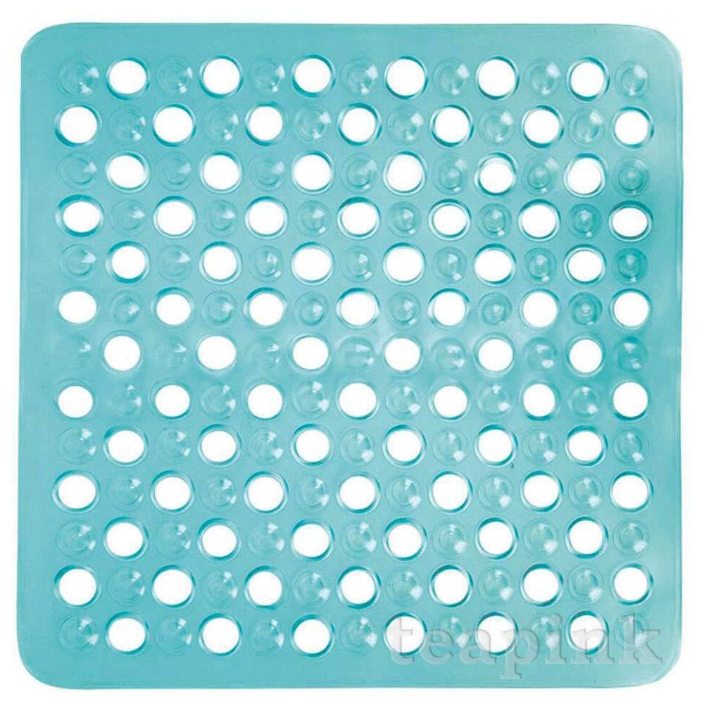 43 x 43 cm Bleu RHP Tapis de Douche carr/é antid/érapant Deluxe Tapis de Bain PVC Bubble Effet Anti Slip