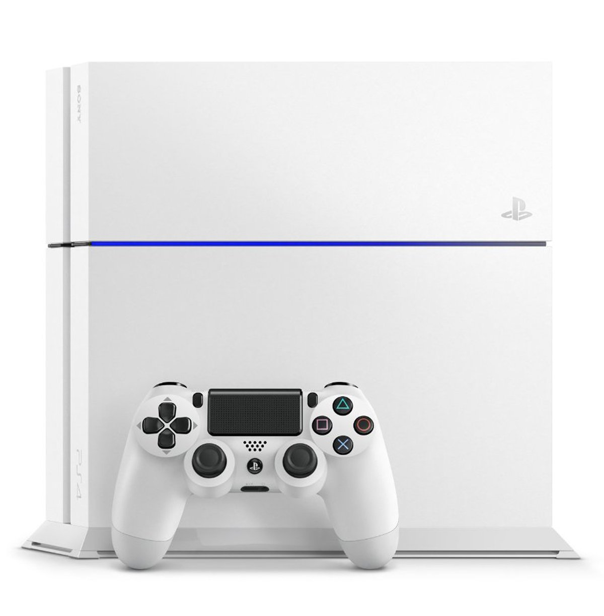 Amazon.com: PlayStation4 Glacier White (CUH-1200AB02) [Japan Import ...