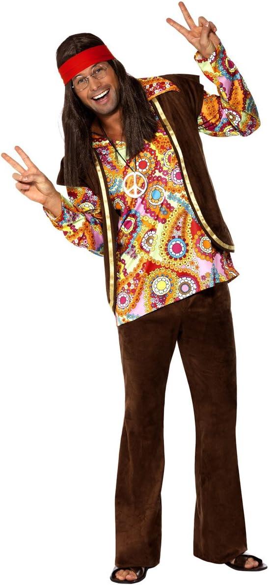 Hombre y Mujer Parejas diseño de cachemira hippy hippie 1960s 60s ...