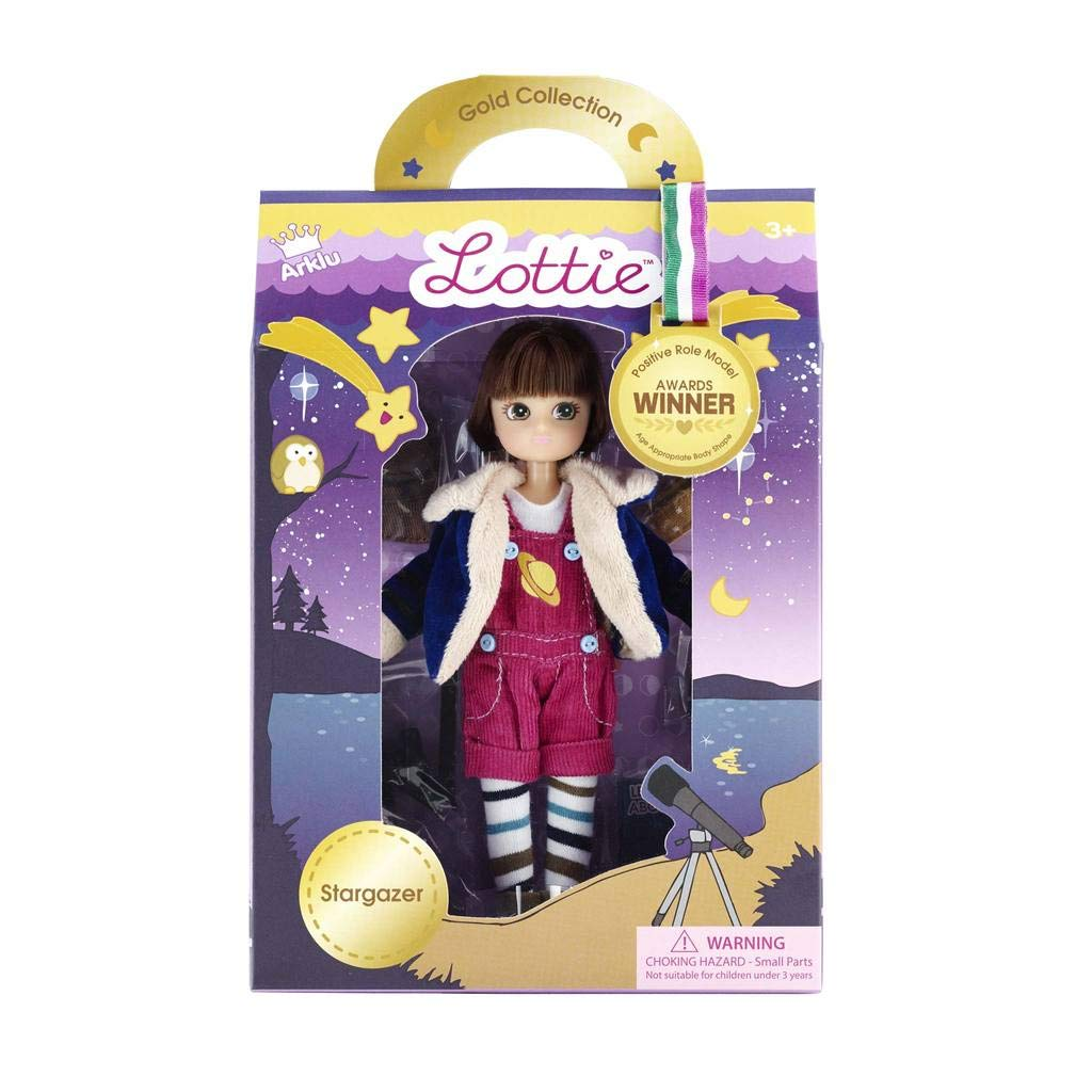 Lottie Doll Stargazer - Brown Hair And Brown Eyes LT052 Fictional & Fantasy Characters
