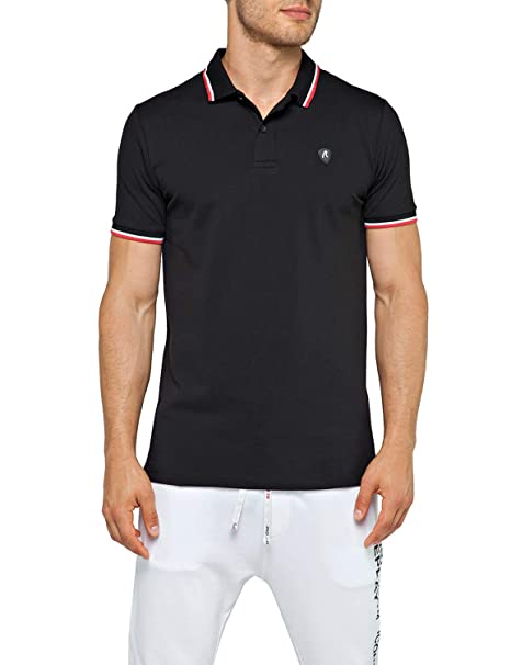 REPLAY Mens Polo Shirt with Striped Detailings: Amazon.es: Ropa y ...