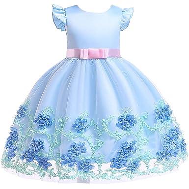 821dba527407c Forpend 子供ドレス ワンピース 女の子 女児フォーマル プリンセスドレス 子供服 発表会 結婚式 入園