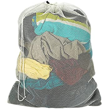 Amazon.com: Honey-Can-Do LBG-01161 Mesh Laundry Bag with ...