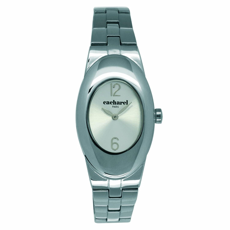 Cacharel Damen-Armbanduhr Analog Quarz Edelstahl CLD 008-BM