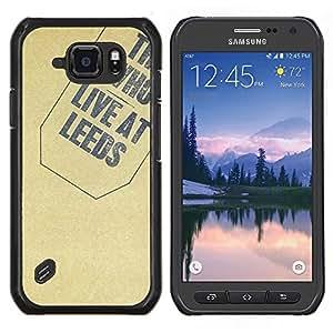 TECHCASE---Cubierta de la caja de protección para la piel dura ** Samsung Galaxy S6 Active G890A ** --Textura Quién