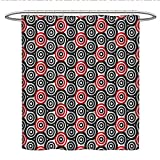 Best Croscill Blinds - Geometric Circle DecorUnique Shower curtainInterlace Spiral Labyrinth Blind Review