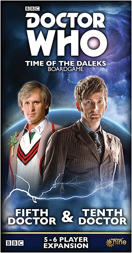 Gale Force Nine GF9DW002 Doctor Who: Time of The Dalek 5th & 10th Doctors Expansion, Multicolor: Amazon.es: Juguetes y juegos