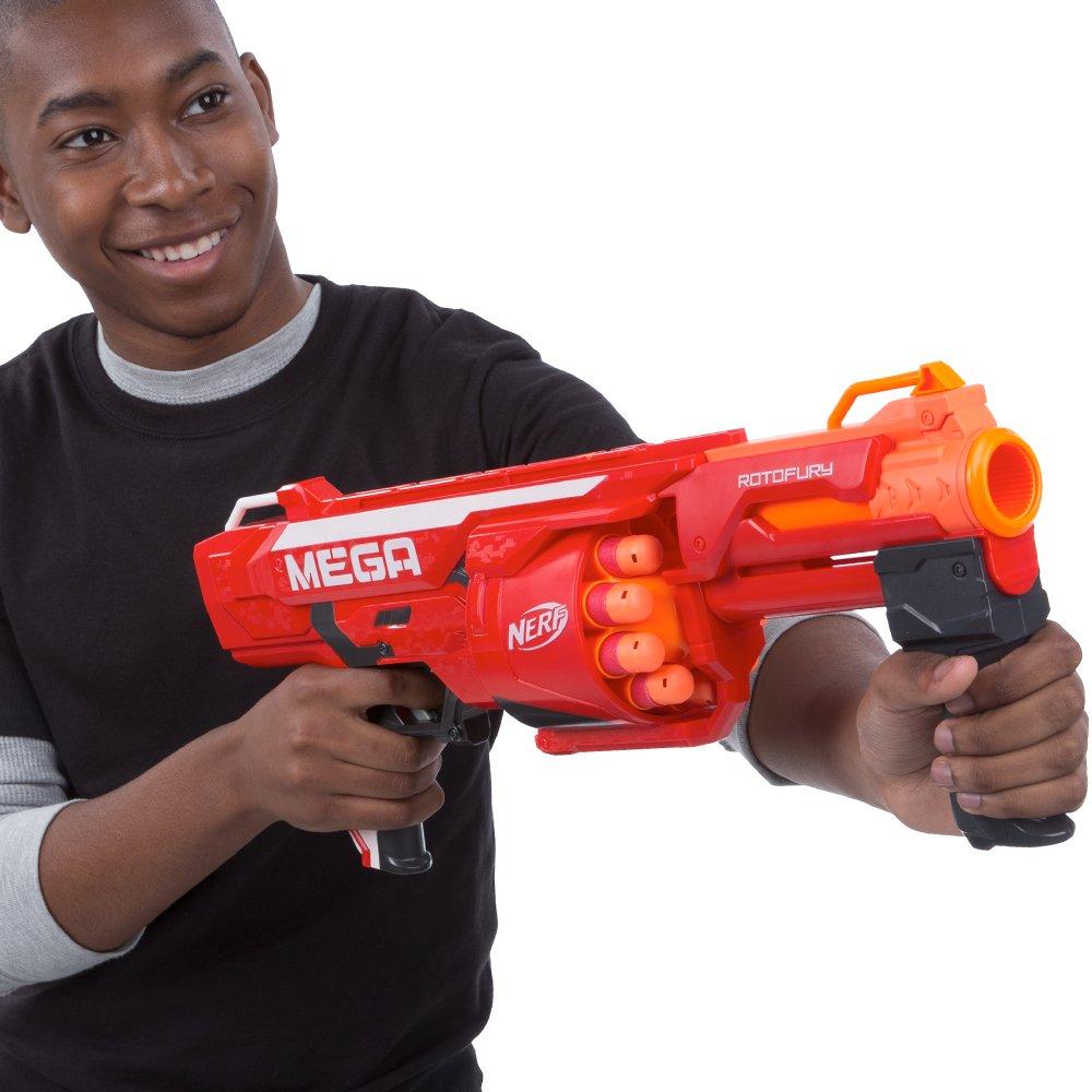 item 6 New Nerf N-Strike Mega Series RotoFury Blaster Toy Dart Gun No Box  -New Nerf N-Strike Mega Series RotoFury Blaster Toy Dart Gun No Box