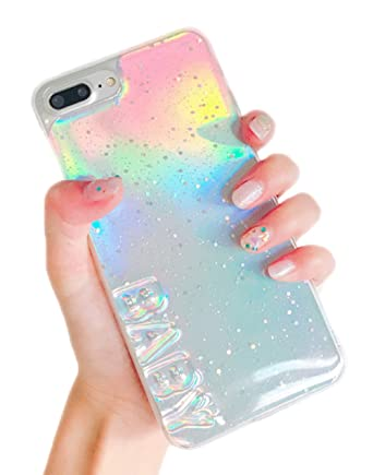 Iphone 6 Plus Case 6S Holographic Iridescent Card 3D Baby