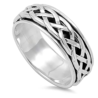 Star Cute Jewelry Gift for Women in Gift Box Glitzs Jewels 925 Sterling Silver Ring