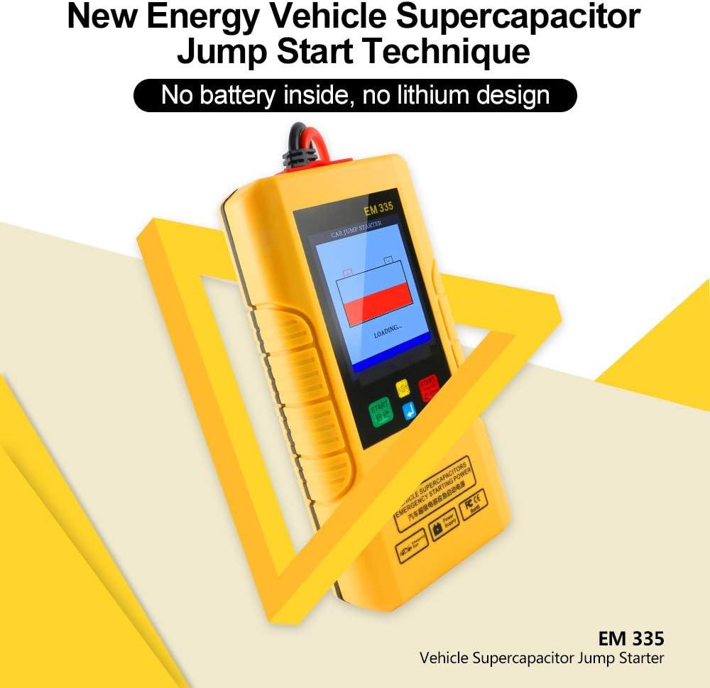 einfach und praktisch Einfach zu zerlegen und zu installieren 12V 650A Smart Car Booster Kabel Schutz-Auto-Batterie for Auto-Kurzschluss/überladungs Constant Regulator Jump Lead-Clips Qualit/ät
