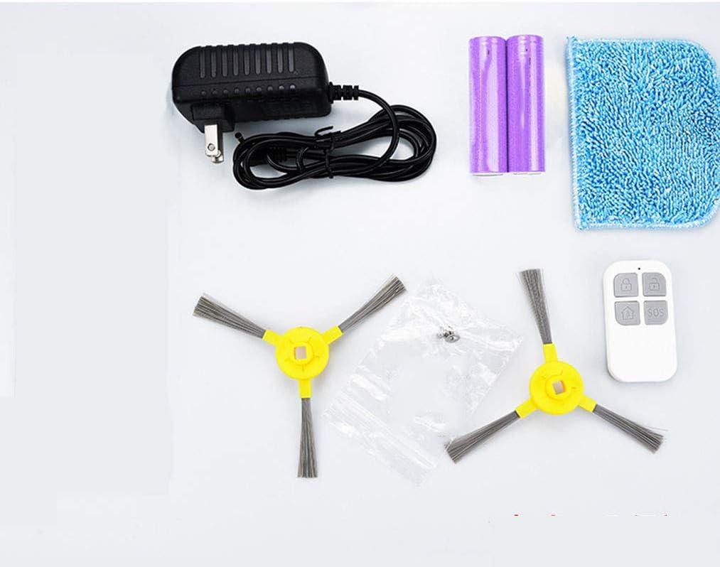 Rechargeable Smart Aspirateur Robot, 3dans1 Automatique Robot De Balayage Robots Aspirateurs Pour Ménage Cadeau-D\'or Bleu