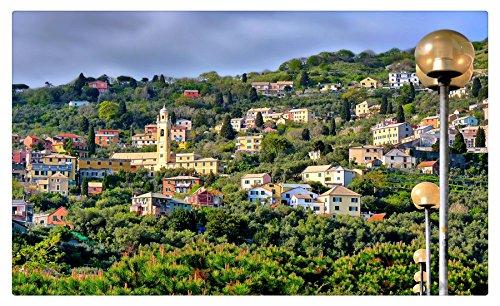 Italy Houses Genoa Cities travel sites Postcard Post ()