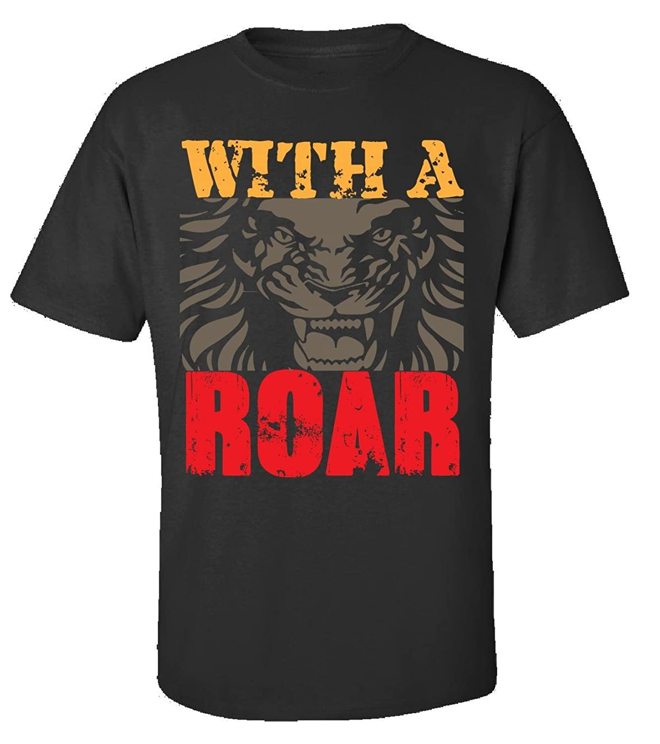 With A Roar, For Brave And Bold - Adult Shirt