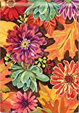 Cheap BreezeArt Autumn Jazz 28″ X 40″ House Flag – Fall Leaves and Flowers
