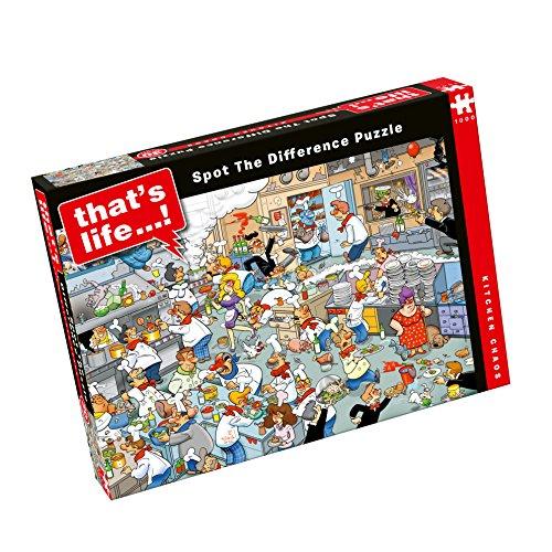Paul Lamond That's Life Kitchen Chaos 1000 Piece Jigsaw Puzzle -  6575
