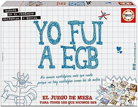 EDUCA BORRAS Juego Yo fui a EGB: Amazon.es: Hogar