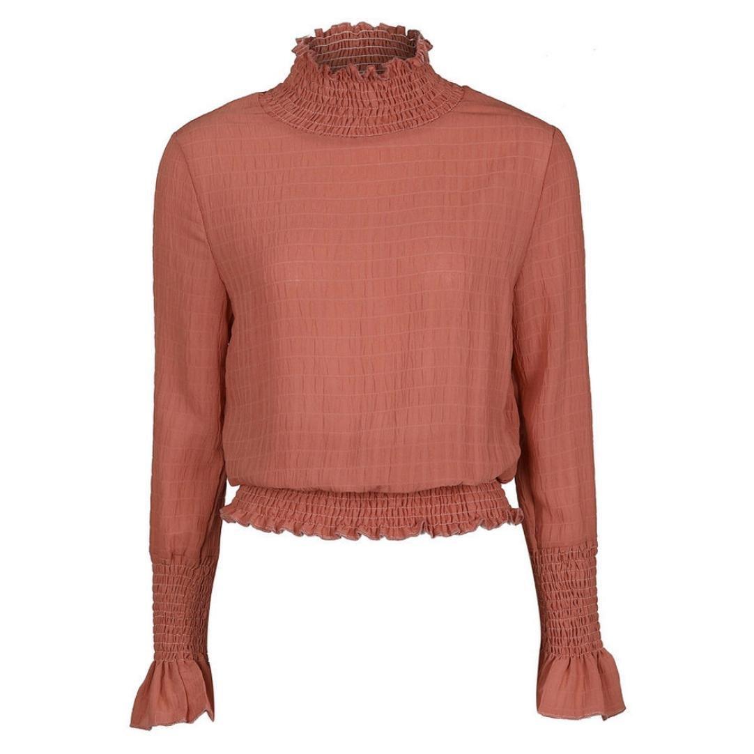 Fulltime(TM) Sexy Turtleneck Long Sleeve Ladies T Shirt for Women YLL70816526
