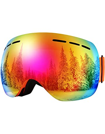 Bfull OTG Lunette de Ski, Lunettes d anti-buée Coupe-Vent Les ca7c15413101