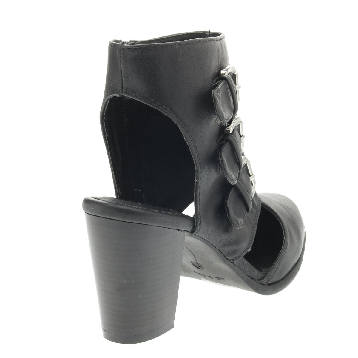 Glaze Womens 43-DIXIE2 Pointy Toe High Heel Ankle Boots