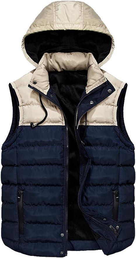 veste matelassée fine sans manche homme