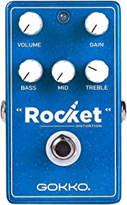 GOKKO Guitar Effects Pedal GK-45 Rocket Distortion Pedal