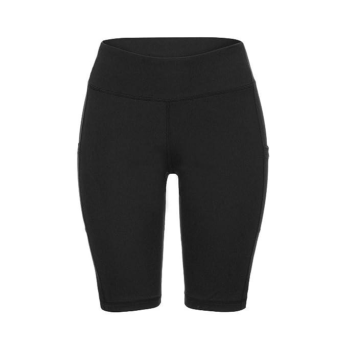 Amazon.com: CuriousLady-pants Yoga Shorts Pocket Leggings ...
