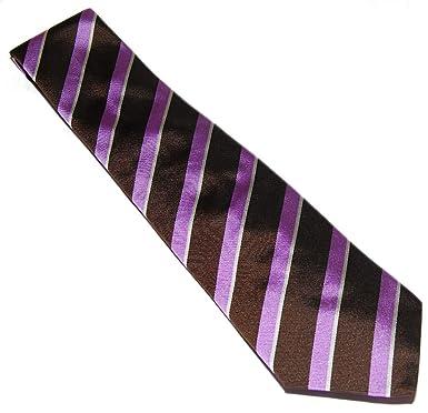 Ralph Lauren Polo Corbata de seda para hombre, diseño de rayas ...