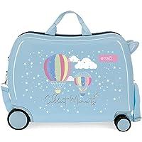 Enso Collect Moments Maleta Infantil Multicolor 50x38x20 cms Rígida ABS Cierre combinación 34L 2,1Kgs 4 Ruedas Equipaje…