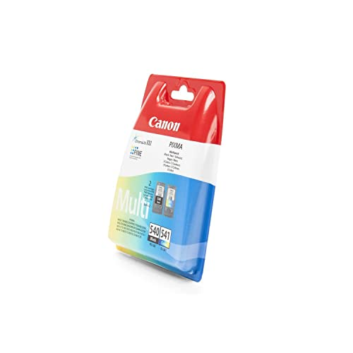 Canon Original PG-540 and CL-541 Ink Cartridge Combo Pack
