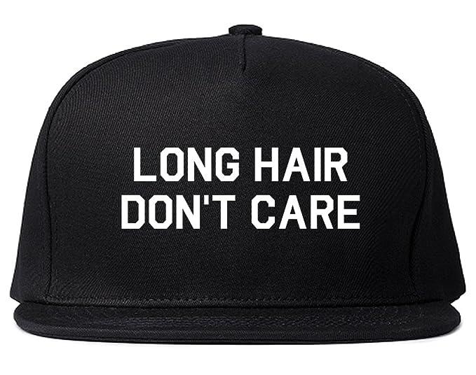 141ebb279d8dc Long Hair Dont Care Snapback Hat Cap Black at Amazon Men s Clothing ...